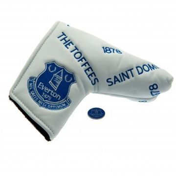 Everton Blade Putter Cover & Marker